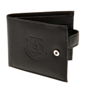 Everton Leather Wallet with Anti-Fraud